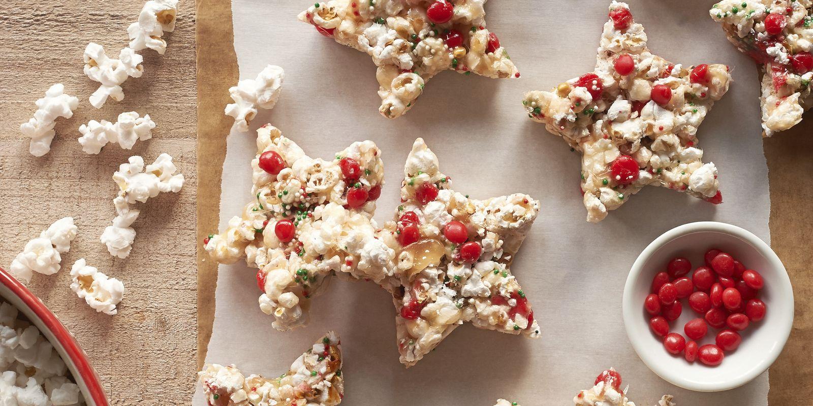 Candied Popcorn Stars