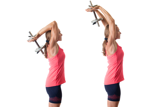 Well-Defined Triceps