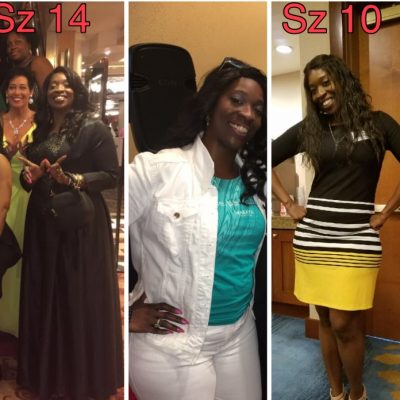 Having Been On A Weight Loss Journey For the Past 10 Years, Tia Finally Tasted Success!