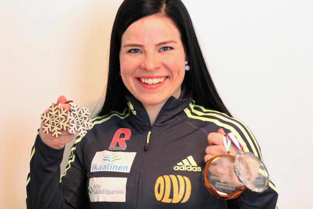 2018 Bronze Medalist Krista Pärmäkoski Is Living Her Olympic Dream - Women Fitness