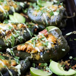 Turkey Stuffed Poblanos