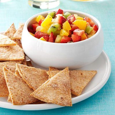 Five Low Calorie Fruity Salsas
