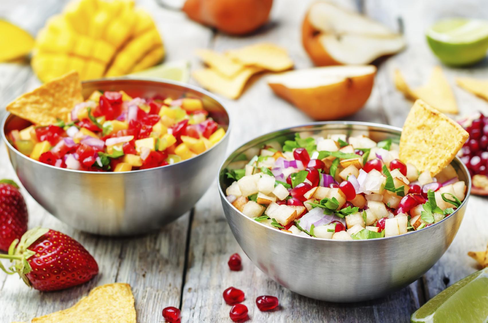 Low Calorie Fruity Salsas