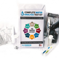 Test Assured Complete Water Analysis Test Kit: The Best Way to Know What's in Your Water