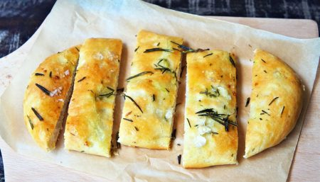 Rosemary Garlic Flatbread
