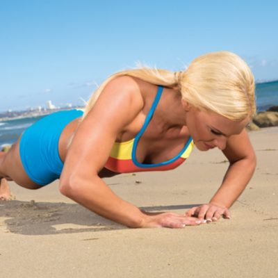 Diamond Push-Up:  A Total Triceps Burner