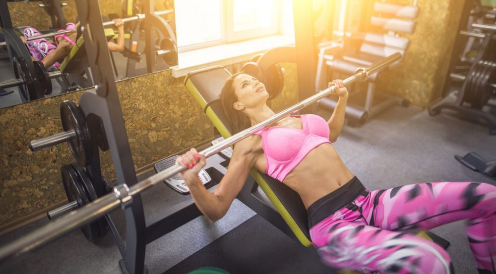 Training The Chest Women Fitness