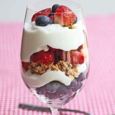 Berry Nutty Breakfast Parfait