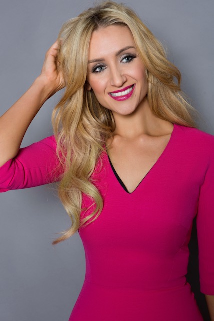 Catherine Tyldesley, actress, model and singer.