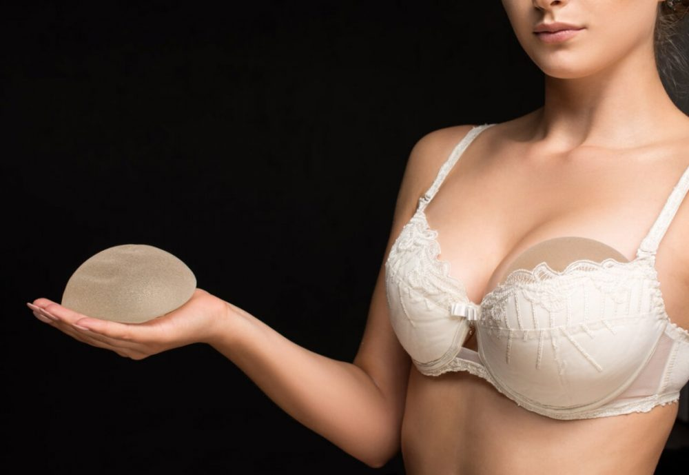 Naked women with breast implants-4185