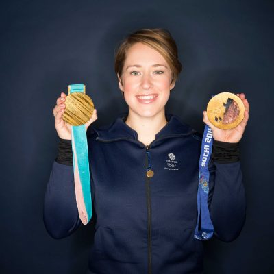 Olympic, World & European Champion Lizzy Yarnold Creates History Yet Again!