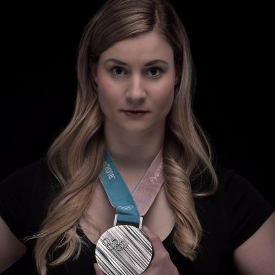 "2018 Olympic Silver Medalist Dajana Eitberger Says ""My Medal In Silver Feels Like Gold"""