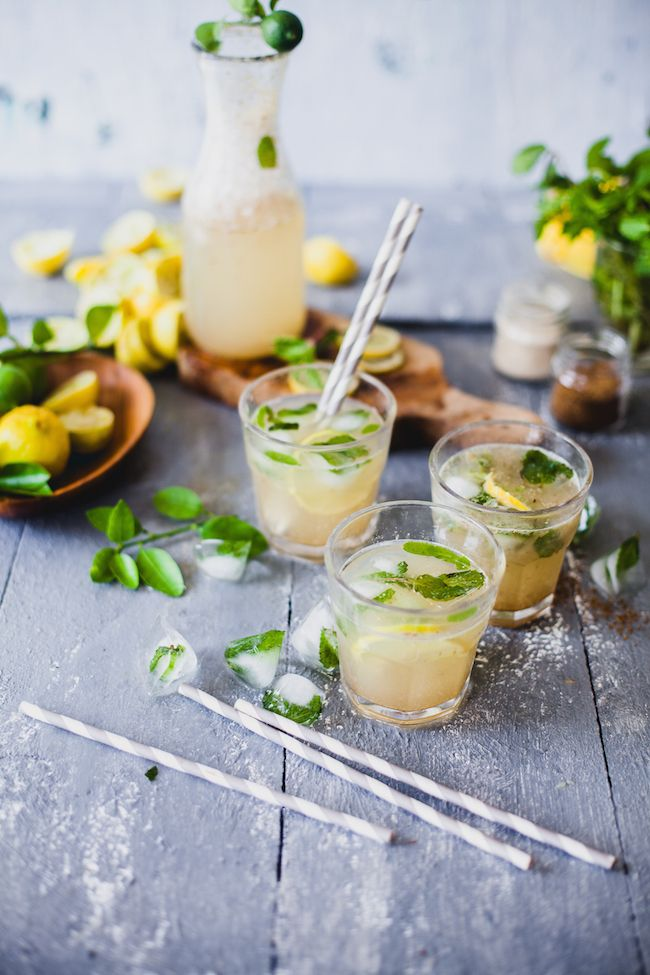 Spiced Lemon Juice