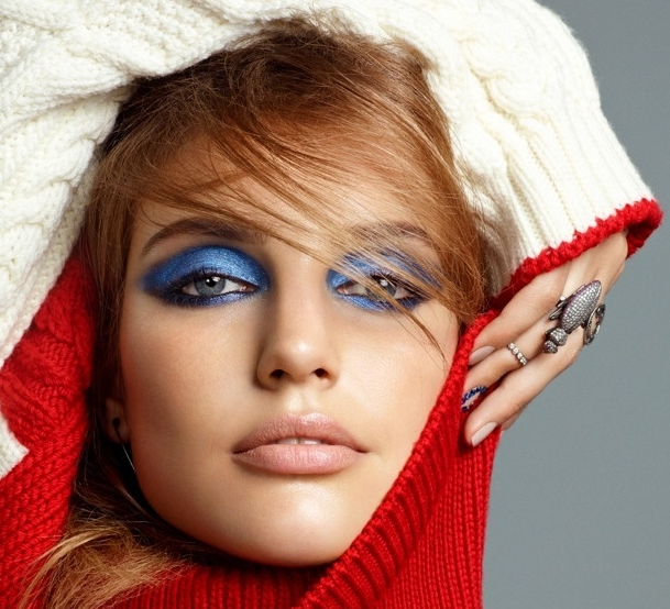 Cobalt Smokey Eyes