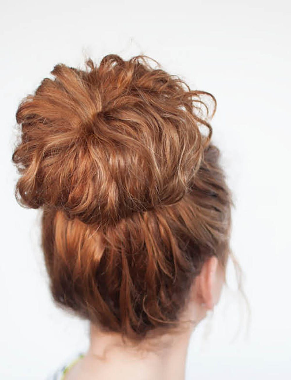 The Neat Curly Updo