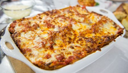 Easy Summer Lasagna
