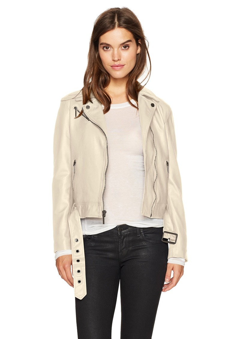 Kenneth Cole Women's Classic Moto Jacket