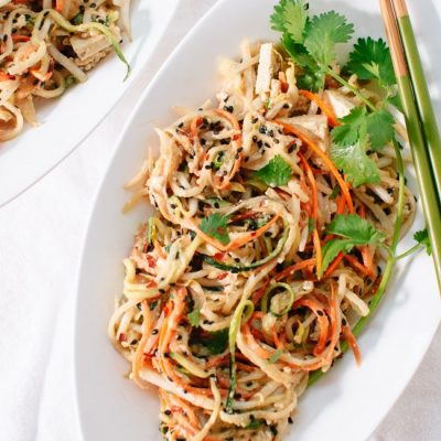 Fresh and Light Veggie Pad Thai