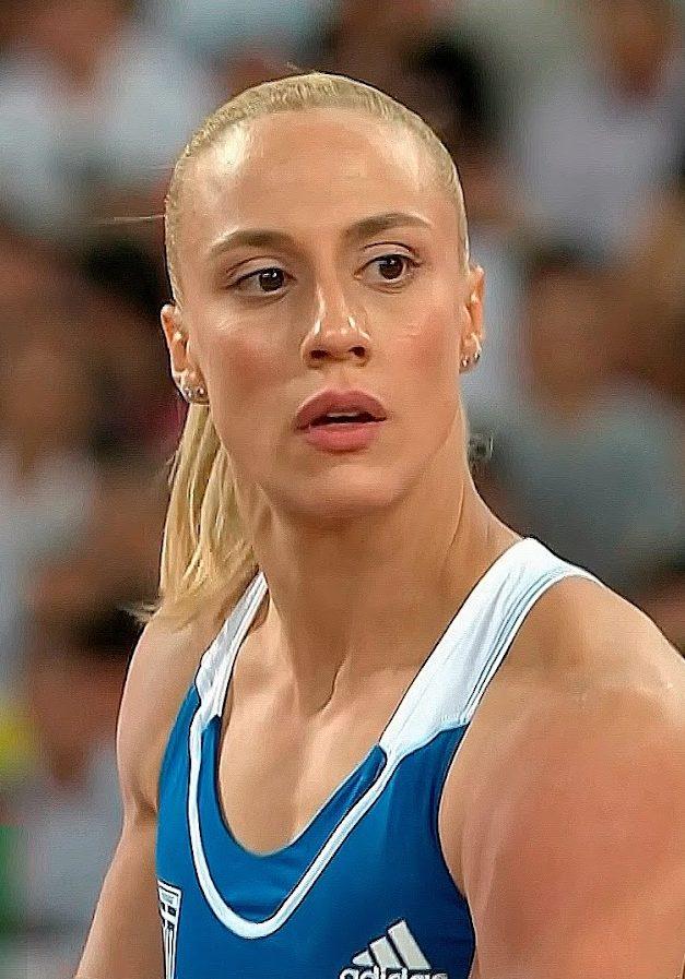 Nikoleta Kyriakopoulou, pole vaulter