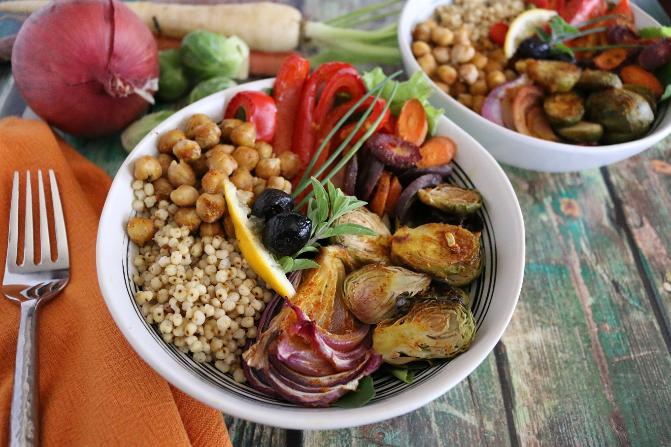 Moroccan Chickpea Sorghum Bowl