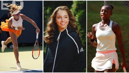 Teen tennis stars