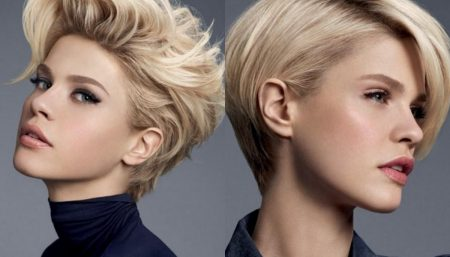 Eight Stylish Short Haircuts