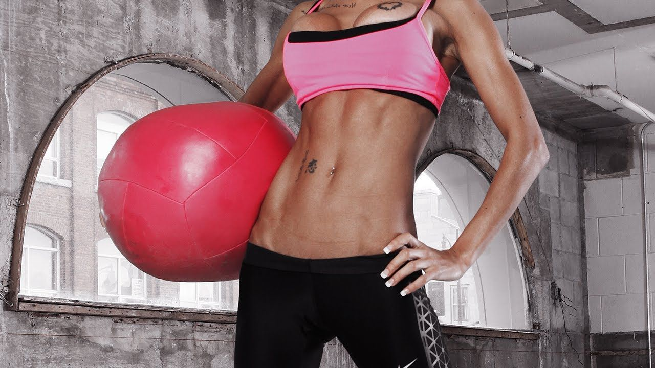 Washboard abs with women Five Weeks