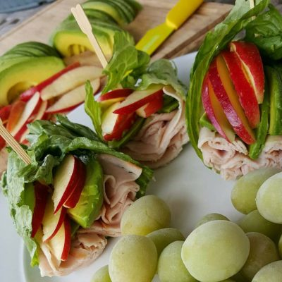 Turkey Apple Wrap with Avocado