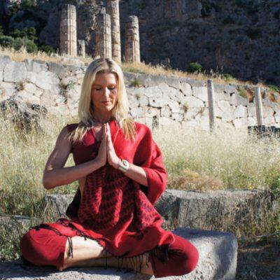 Namaste Or the Anjali Mudra