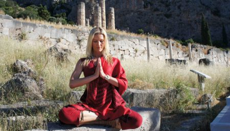 Namaste Or the Anjali Mudra