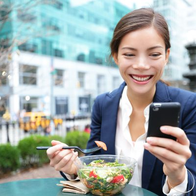 Top 10 to Eating Healthy at Work