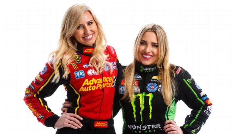Courtney and Brittany force
