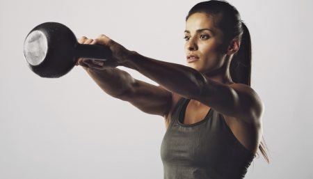 Kettle Bell Swing: a Ballistic Version of the Plank