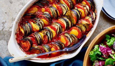 Roasted Ratatouille Vegetable Dip