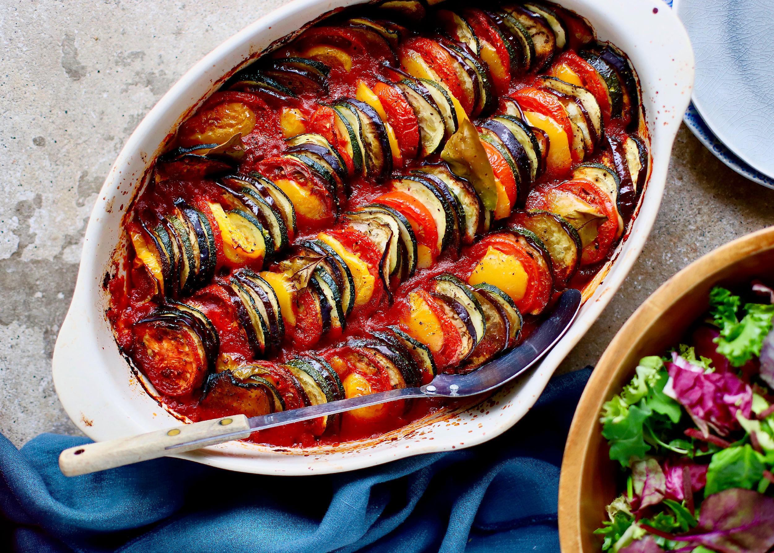 Roasted Ratatouille Vegetable Dip