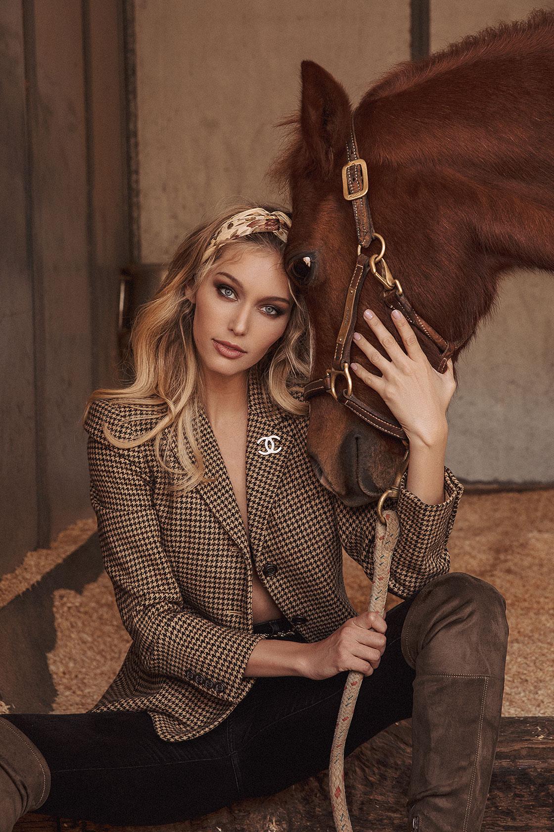 Meagan Lee, fashion model