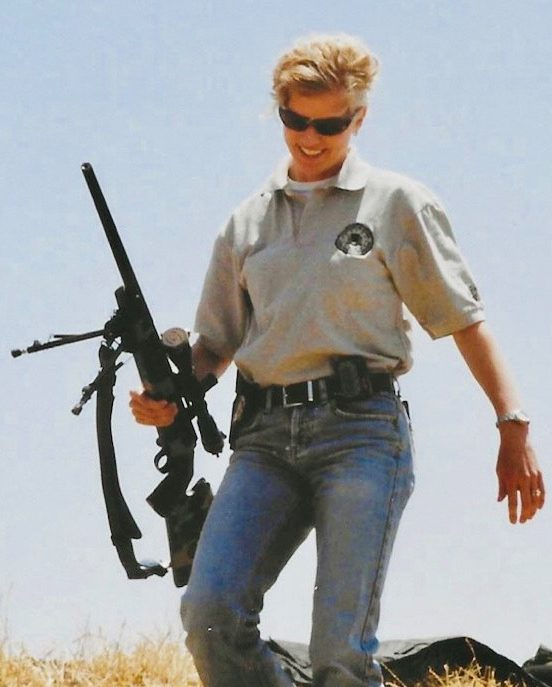 Stacey Mitry, a former FBI Agent and SWAT Sniper