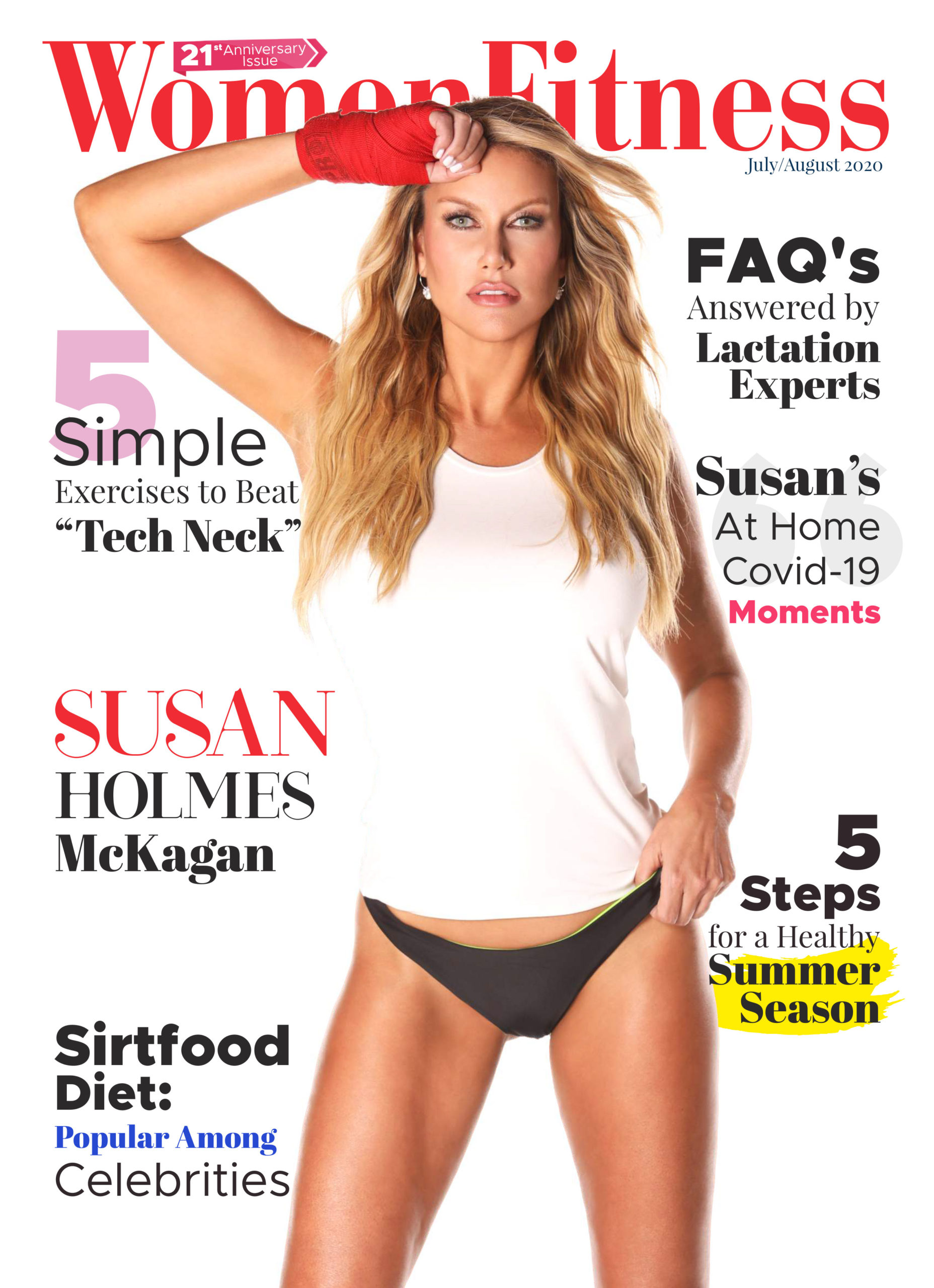 Women Fitness August 2020 issue