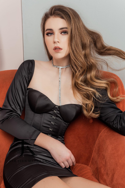 Oleksandra Starynets, Model