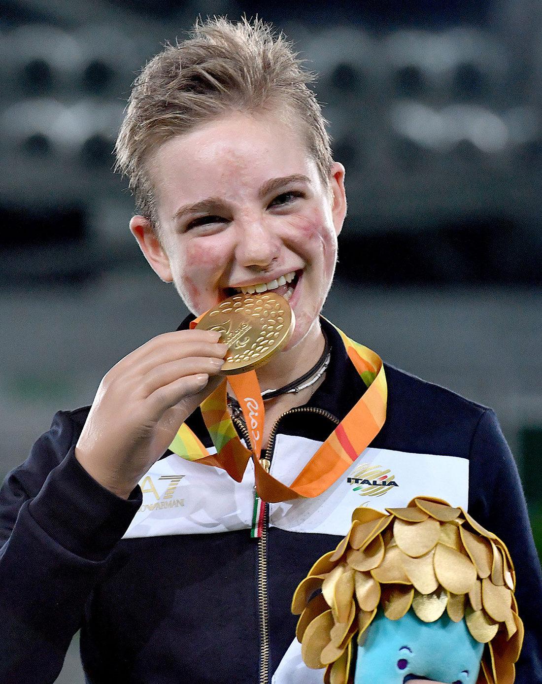 Beatrice Vio, Paralympics Gold Medalist