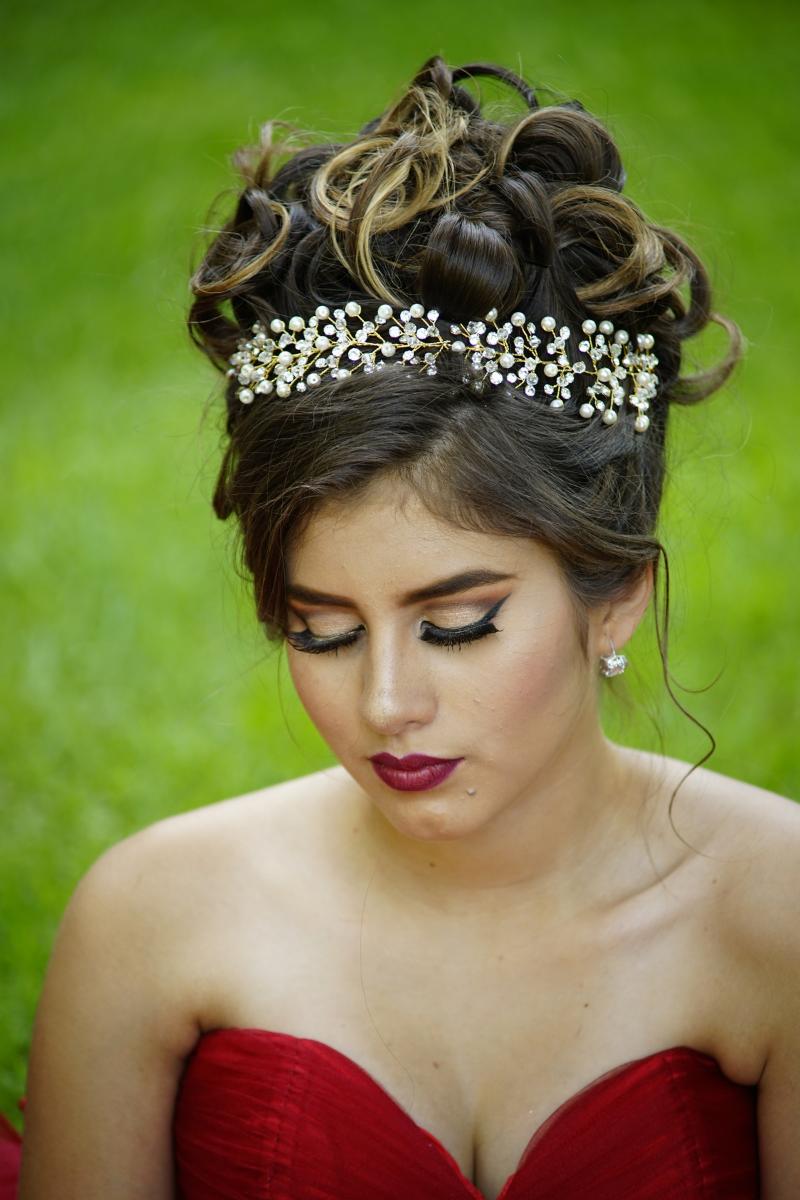 hairstyle_top bun